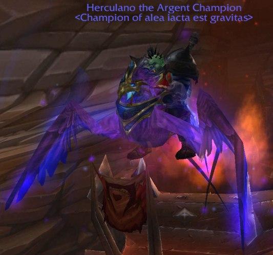 Dark Phoenix Flying Mount
