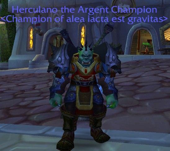 Champion of Alea Iacta Est