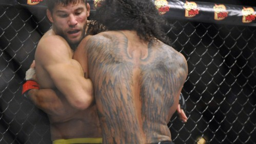 Ben Henderson = ass-kicker of Alysrazor