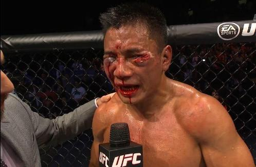 """GUGH NGNUMPH AAUUGG!"" - Cung Le's post-fight interview."